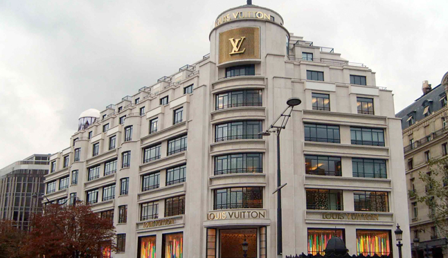 MAGASIN LOUIS VUITTON – CHAMPS ELYSEES